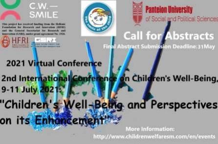 Δελτίο Τύπου Παρακολούθησης – 2ο Διεθνές Επιστημονικό Συνέδριο στην Παιδική Ευημερία